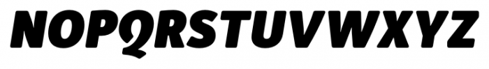 Submariner R24 Heavy Italic Font UPPERCASE