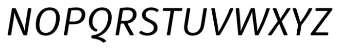 Submariner R24 Italic Font UPPERCASE