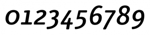 Submariner R24 Medium Italic Font OTHER CHARS