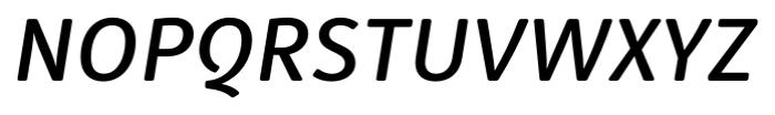 Submariner R24 Medium Italic Font UPPERCASE