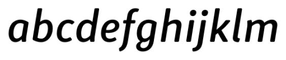 Submariner R24 Medium Italic Font LOWERCASE