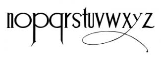 Suciellid Regular Font LOWERCASE