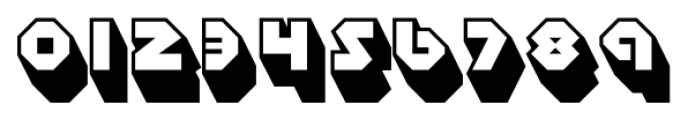 Sudbury Basin 3D Font OTHER CHARS
