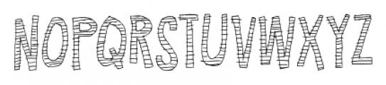 Summer fades away Regular Font UPPERCASE