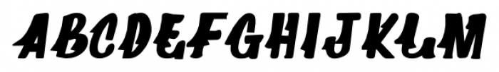 Supermarket Regular Font UPPERCASE