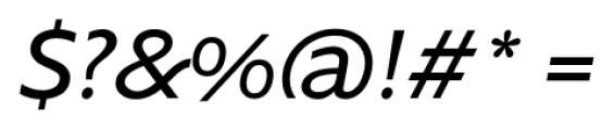 Supra NormalItalic Font OTHER CHARS
