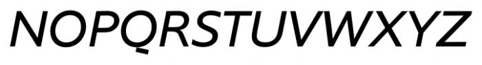 Supra NormalItalic Font UPPERCASE