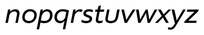Supra NormalItalic Font LOWERCASE
