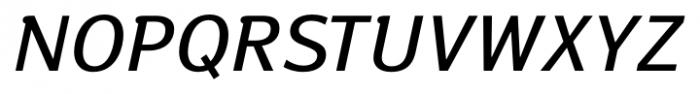 Susan Book Italic Font UPPERCASE