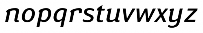Susan Book Italic Font LOWERCASE