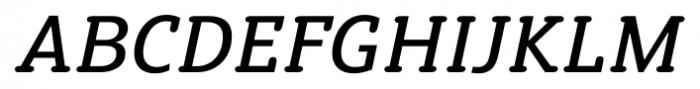 Susan Classic Book Italic Font UPPERCASE