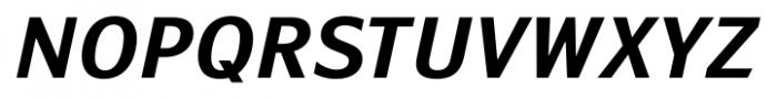 Susan Sans Bold Italic Font UPPERCASE