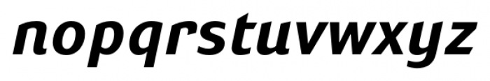 Susan Sans Bold Italic Font LOWERCASE