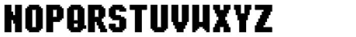Sub Mono Cond Fat Font UPPERCASE