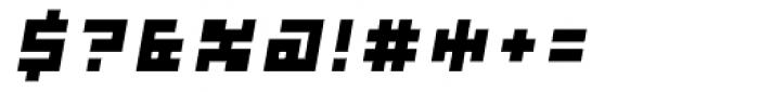 Subito ExtraBold Oblique Font OTHER CHARS
