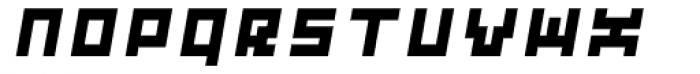 Subito ExtraBold Oblique Font UPPERCASE