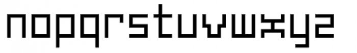 Subito Regular Font LOWERCASE