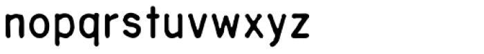 Sublime Medium Font LOWERCASE