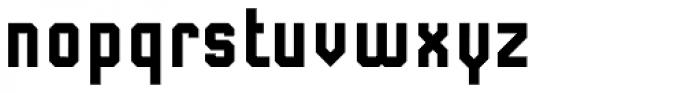 Submarine Bold Font LOWERCASE