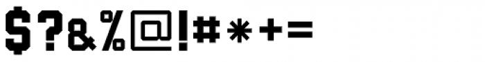 Submarine ExtraBold Font OTHER CHARS