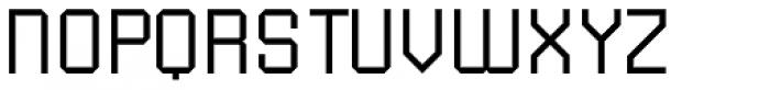 Submarine ExtraLight Font UPPERCASE