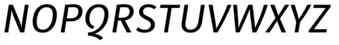Submariner Book Italic Font UPPERCASE
