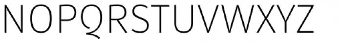 Submariner Extra Light Font UPPERCASE