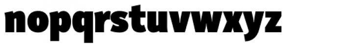 Submariner Heavy Font LOWERCASE