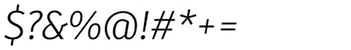 Submariner Light Italic Font OTHER CHARS