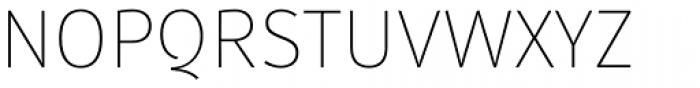 Submariner Thin Font UPPERCASE