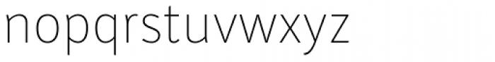 Submariner Thin Font LOWERCASE
