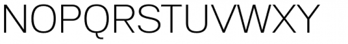 Substance ExtraLight Font UPPERCASE