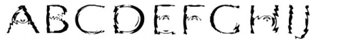 Substance Std Regular Font UPPERCASE