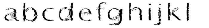 Substance Std Regular Font LOWERCASE