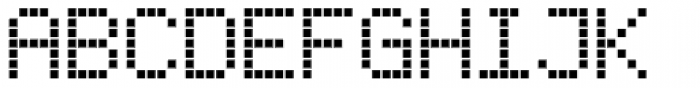 Subway Ticker Font UPPERCASE