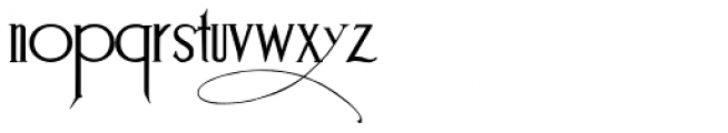Suciellid Font LOWERCASE