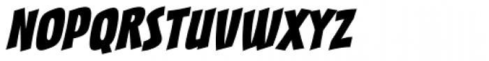 Sucker Punch BB Italic Font UPPERCASE