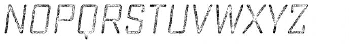 Sucrose Slant Four Font UPPERCASE