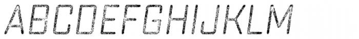 Sucrose Slant Four Font LOWERCASE