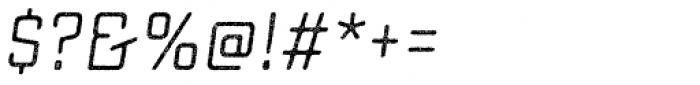 Sucrose Slant One Font OTHER CHARS