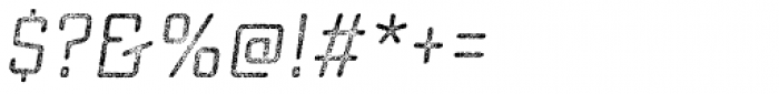 Sucrose Slant Three Font OTHER CHARS