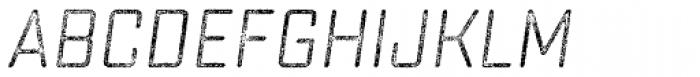 Sucrose Slant Three Font UPPERCASE