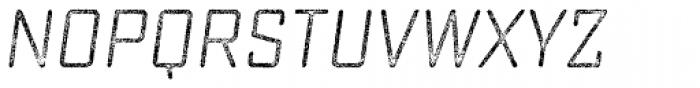 Sucrose Slant Three Font LOWERCASE