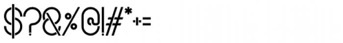 Sudoku Light Font OTHER CHARS