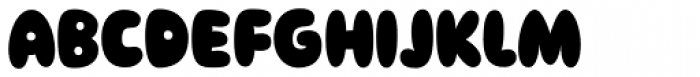 Sudsy Font UPPERCASE
