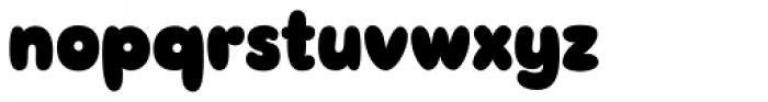 Sudsy Font LOWERCASE