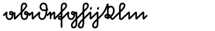 Suetterlin Crisp Bold Font LOWERCASE