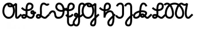 Suetterlin Crisp Heavy Font UPPERCASE