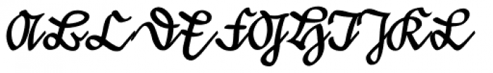 Suetterlin EF Dfr Font UPPERCASE
