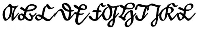 Suetterlin EF Font UPPERCASE